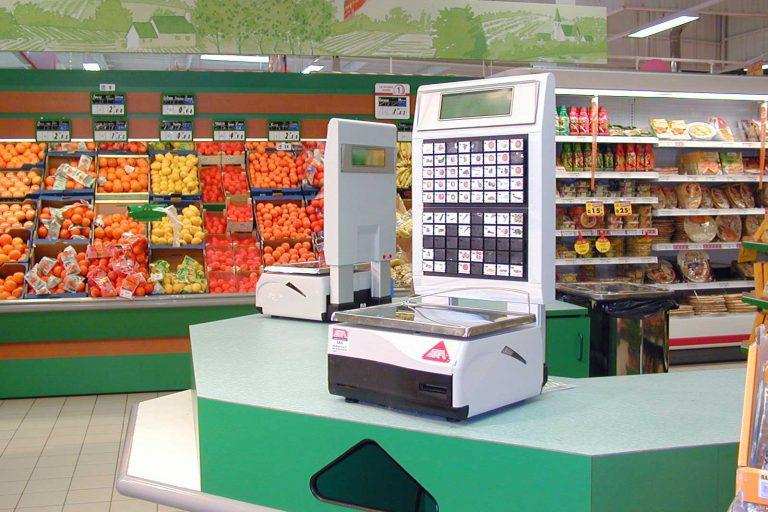 balance commerce alimentaire supermarché csc pesage
