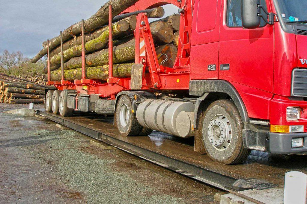 véhicule camion pont-bascule csc pesage